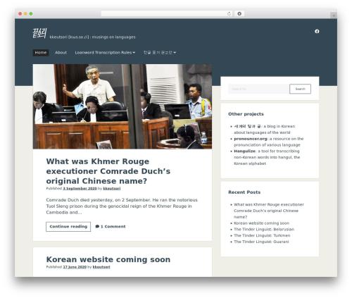 Theme WordPress Period - kkeutsori.com