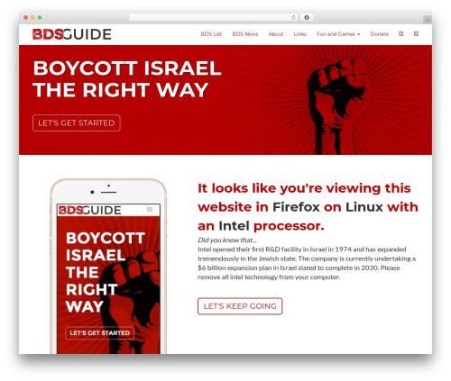 Free WordPress SlickQuiz plugin - madeinthejewishstate.com