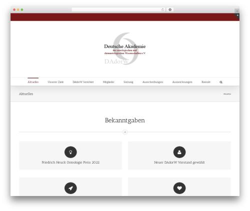 WordPress theme Avada - dadorw.com