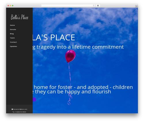 WordPress theme Sanabel - bellasplace16.com