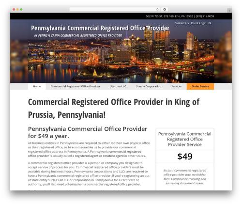 WordPress website template The Theme - pacommercialregisteredofficeprovider.com
