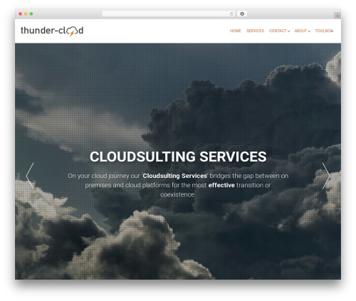 AccessPress Parallax WordPress free download - thunder-cloud.com