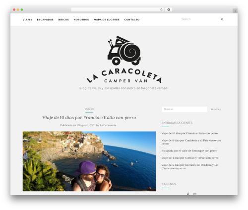 Activello WordPress template free download - lacaracoleta.com