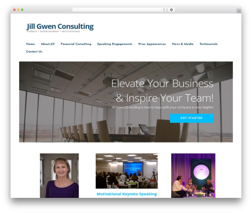 Ascension best WordPress template - jillgwenconsulting.com