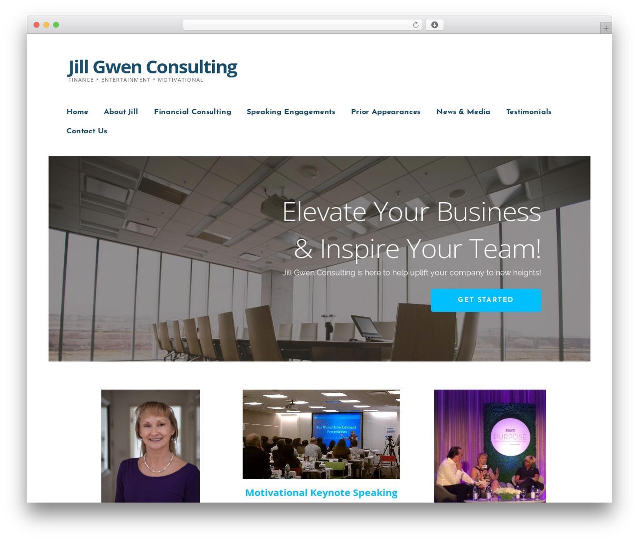 Ascension best WordPress template - jillgwenconsulting.com