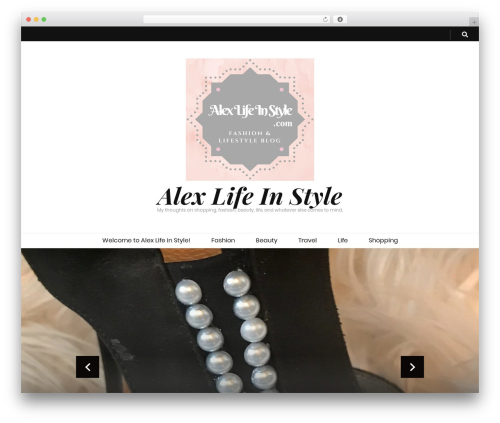 Free WordPress BlossomThemes Email Newsletter plugin - alexlifeinstyle.com