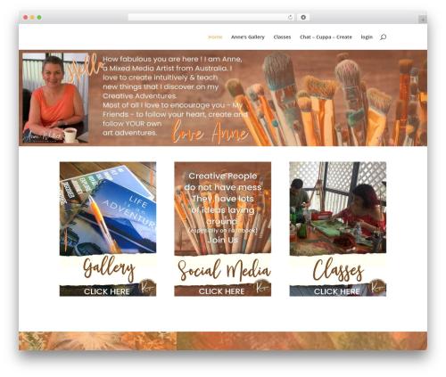 Divi theme WordPress - kriaytive.com