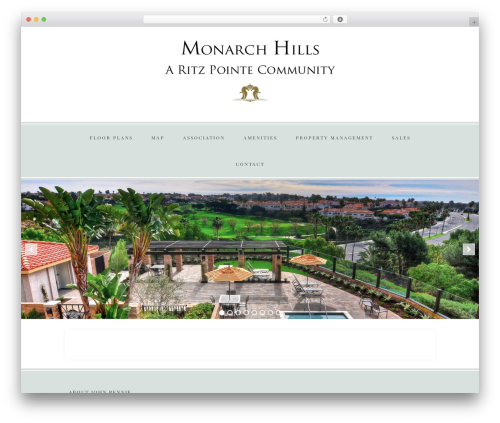 Faithful Theme WordPress theme - monarchhills.com