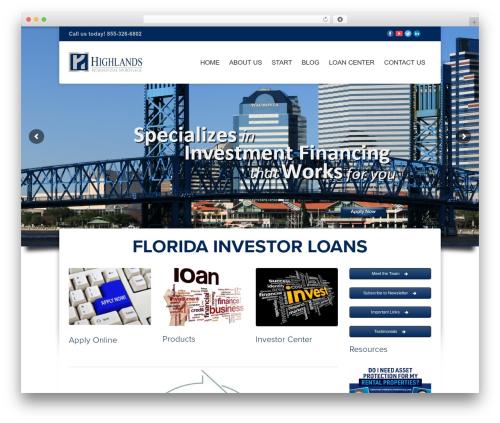 Hedge WordPress theme - floridainvestorloans.com