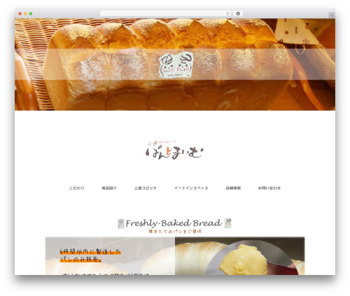 Holiday template WordPress - pantomaimu.com