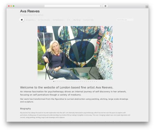 HyperSpace WordPress theme - avareeves.com