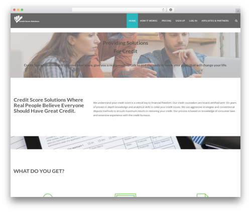 Lavish Pro best WordPress theme - ifixedmycredit.com