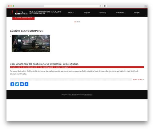 Metrolo free website theme - uralmekatronik.com