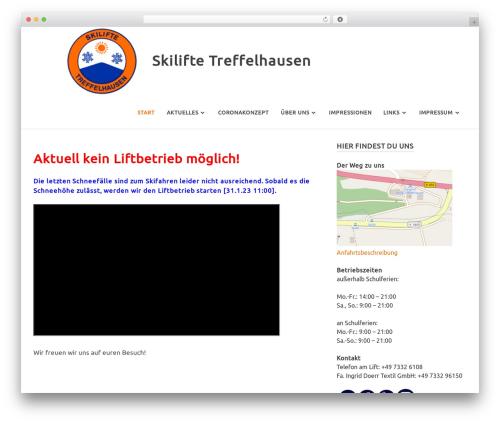 Poseidon template WordPress free - skilifte-treffelhausen.de