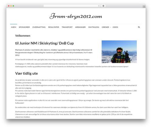 Reef WordPress theme design - jrnm-stryn2012.com