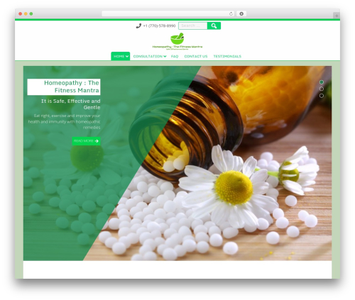 Searchlight WordPress theme free download - homeoconsultation.com