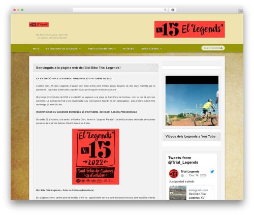 Sportimo Premium Theme best WordPress template - biketriallegends.com