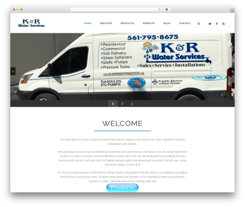 Theme WordPress Aperio - kandrwaterservice.com