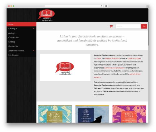 Theme WordPress JointsWP - Sass - essentialaudiobooks.com