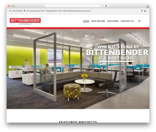 TM Structure business WordPress theme - bittenbenderconstruction.com