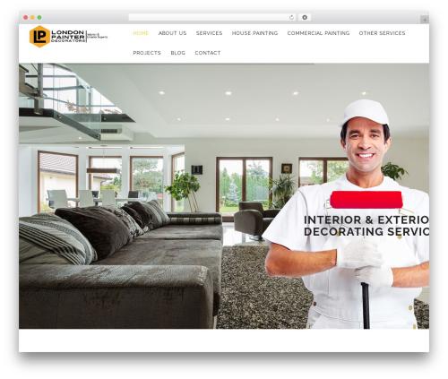WP Spectrum WP template - londonpainterdecorators.com