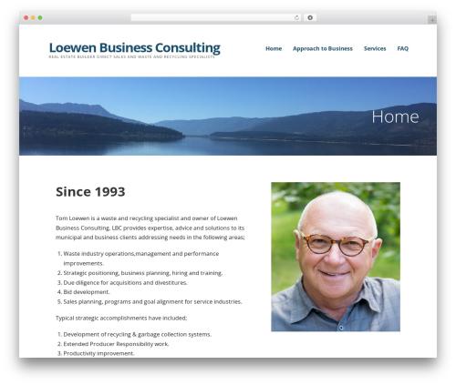 Ascension business WordPress theme - lbclogic.com