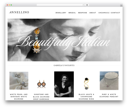 Aurum WordPress theme design - annellino.com