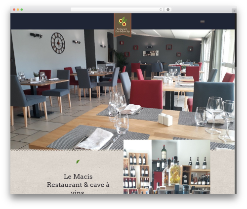 Betheme best restaurant WordPress theme - restaurantlemacis.com