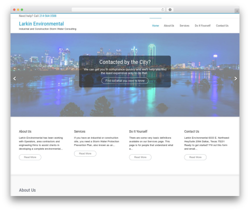 Businessweb Plus theme WordPress free - larkinenvironmental.com