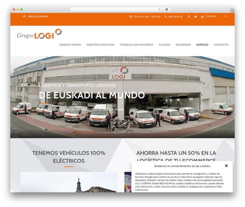 Cargo WordPress theme - grupo-logi.com