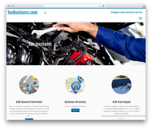 Customizr Pro theme WordPress - texbusiness.com