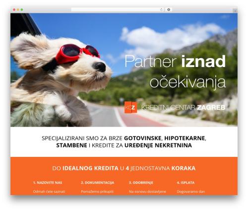 Divi WordPress theme - kreditnicentarzagreb.com