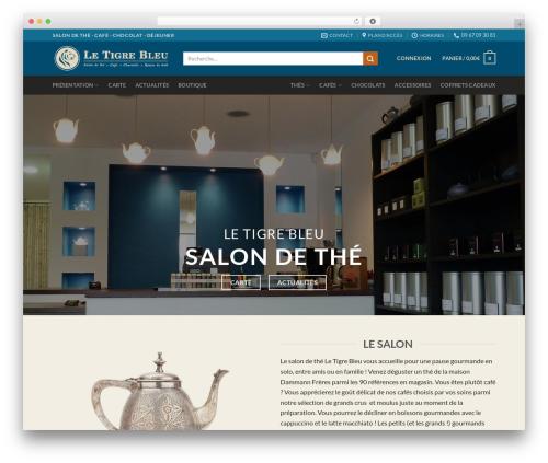 Flatsome WordPress theme - tigre-bleu.com
