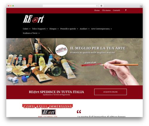 Hot Coffee WordPress page template - belleartisupplies.com