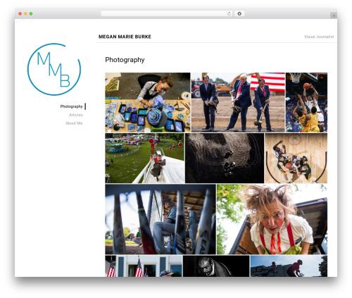 Portfolio Lite WordPress free download - meganmarieburke.com