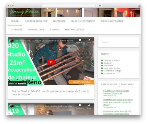 Renard free website theme - jeremyrenove.com