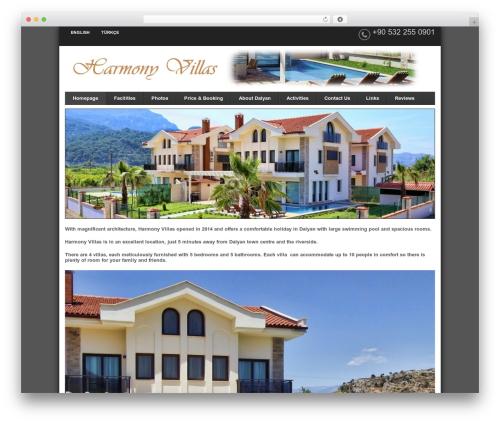 Smart landscaping WordPress theme - harmonydalyan.com