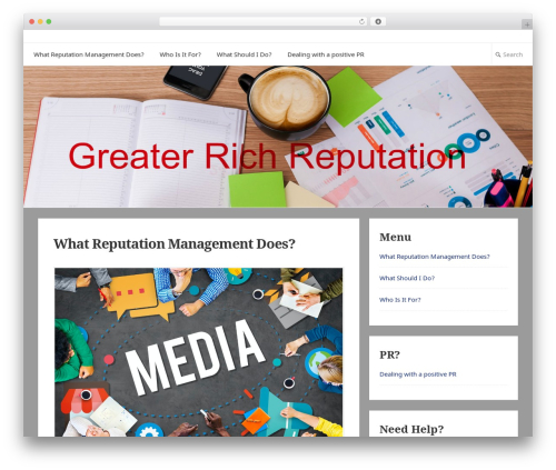 Suri theme WordPress free - greaterrichburgsc.com