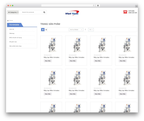 SW Max Shop best WooCommerce theme - maytaonito.com