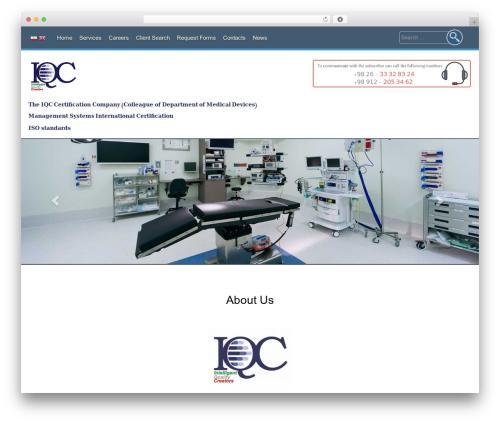 Theme WordPress AccessPress Parallax - iqciran.com