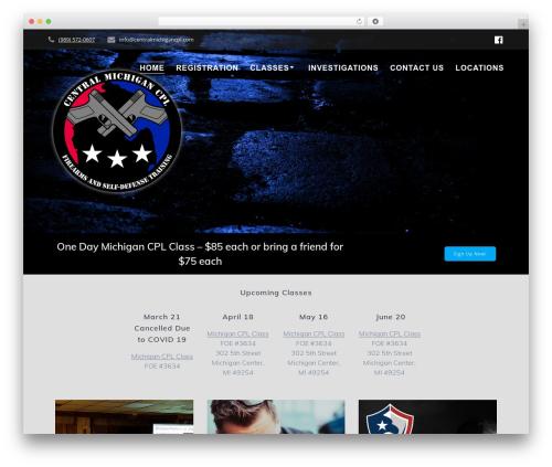 Theme WordPress Mesmerize PRO - centralmichigancpl.com
