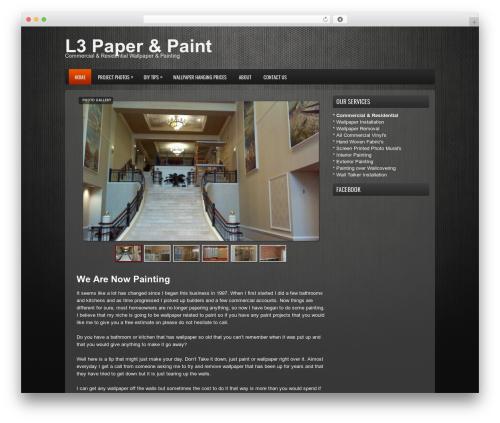 WordPress theme ProSUV - l3paperandpaint.com