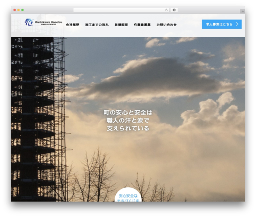 WordPress tcd-workflow plugin - machikawakasetsu.com