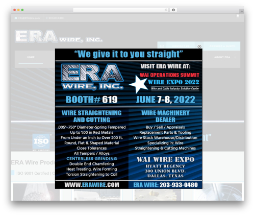WP Industry Theme WordPress template - erawire.com