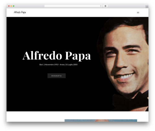 WP Nito theme WordPress - alfredopapa.com