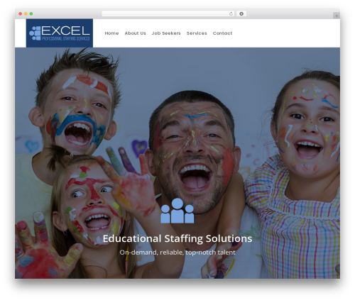 WP Recruitment WordPress theme design - excelpss.com