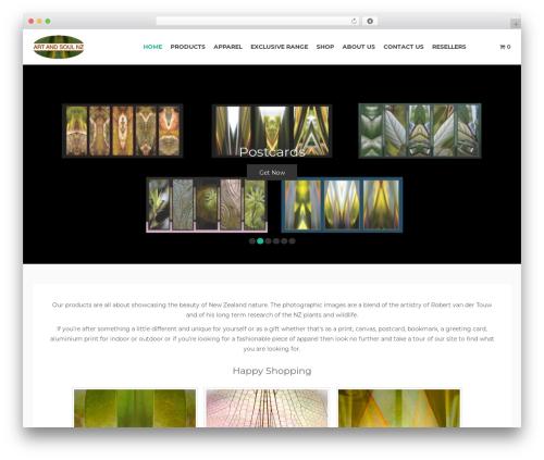 WP theme Bazaar - artandsoulnz.com