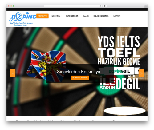 Abacus Hotel best WordPress template - dopingdil.com