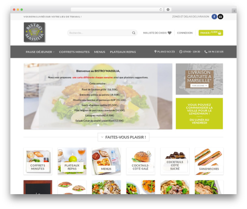 Free WordPress Snow plugin - bistromassilia.com
