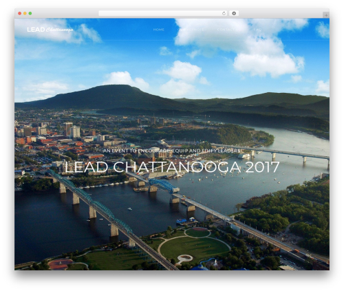 CoWorking WordPress template - leadchattanooga.com